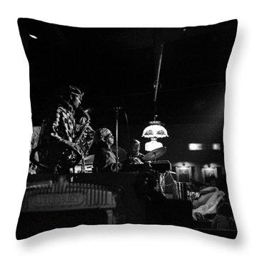 Sun Ra Arkestra At The Red Garter 1970 Nyc 21 Throw Pillow