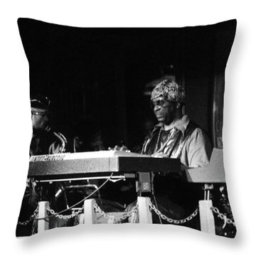 Sun Ra Arkestra At The Red Garter 1970 Nyc 31 Throw Pillow