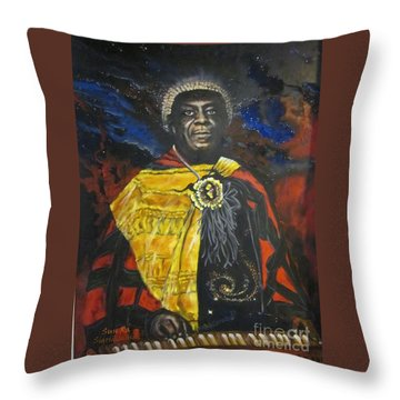 Blaa Kattproduksjoner           Sun-ra - Jazz Artist Throw Pillow