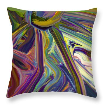 Sun Re Throw Pillow