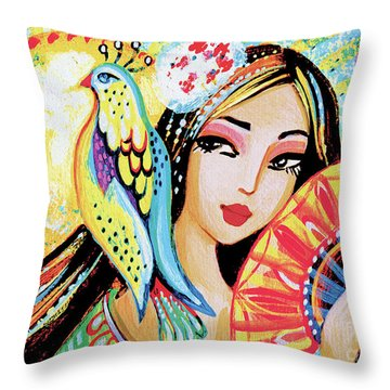 Sun Rise Throw Pillow