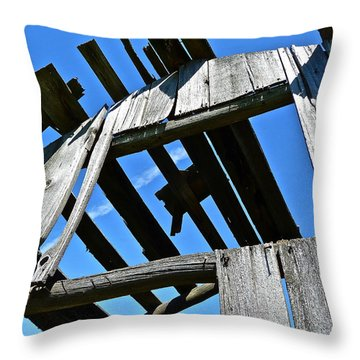 Sun Roof Throw Pillow