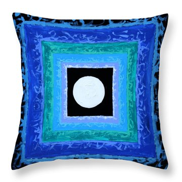 Sun Spots Detail Throw Pillow by John Lautermilch