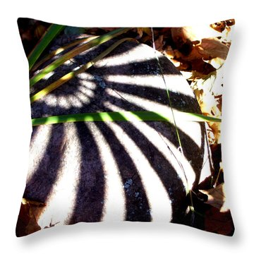 Sun Stone Throw Pillow by Melinda Dare Benfield