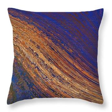 Throw Pillow featuring the digital art Sun Stroke by Constance Krejci