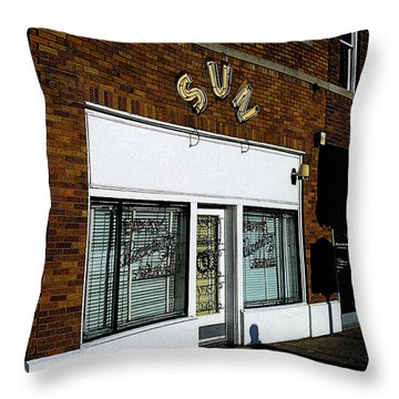 Sun Studio Throw Pillow by Jim Mathis