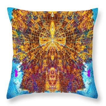 Sun To The Hathors Throw Pillow