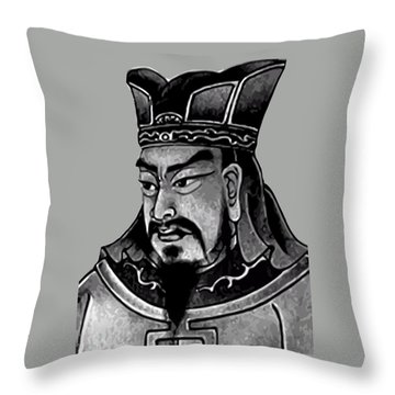 Sun Tzu Throw Pillow by War Is Hell Store