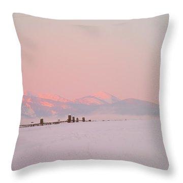 Sun Up On 12th Throw Pillow