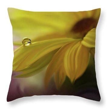 Sunbeam... Throw Pillow by Juliana Nan