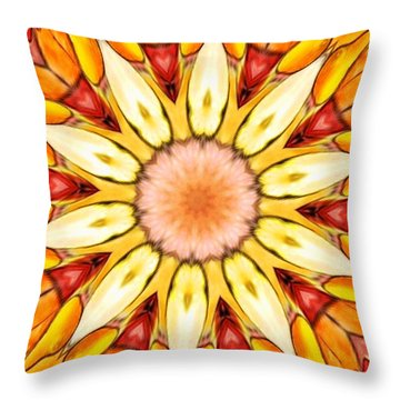 Sunbloom Throw Pillow