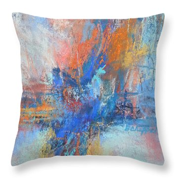 Sunburn Throw Pillow by Becky Chappell