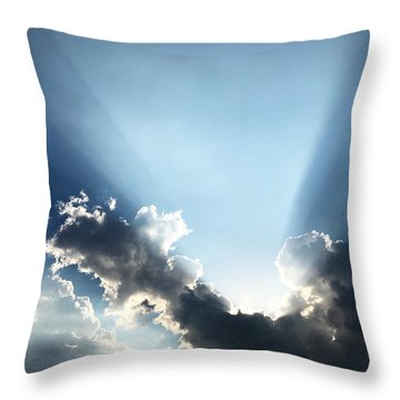 Sunburst Throw Pillow
