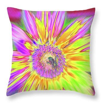 Sunbuzzy Throw Pillow