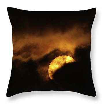 Sunclouds Throw Pillow