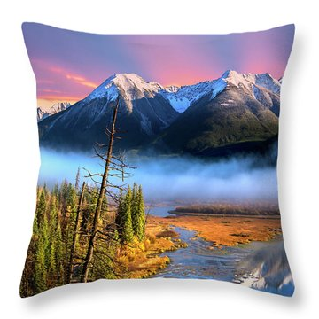 Throw Pillow featuring the photograph Sundance by John Poon