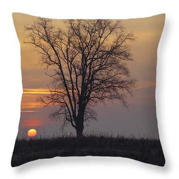 Sunday At Dawn Throw Pillow