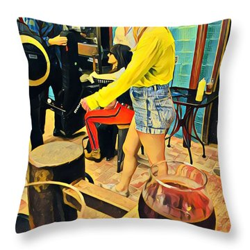 Sunday At Lazarus Throw Pillow