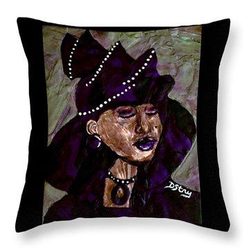 Sunday Best Throw Pillow