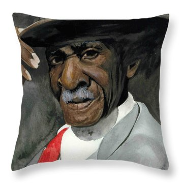 Sunday Go To Meeting Throw Pillow
