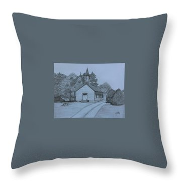 Sunday In Fairview  Throw Pillow