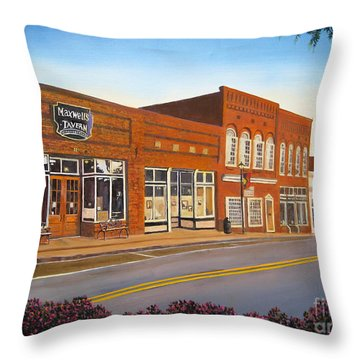 Sunday In Waxhaw Throw Pillow
