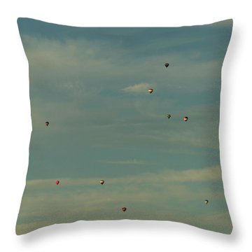 Sunday Meeting Throw Pillow