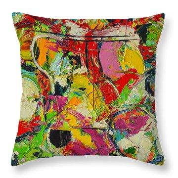 Sunday Mood Throw Pillow by Ana Maria Edulescu
