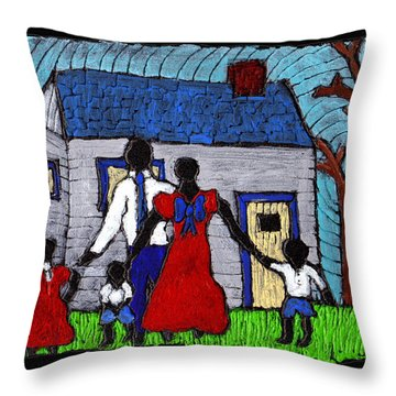Sunday Morning Finest Throw Pillow by Wayne Potrafka