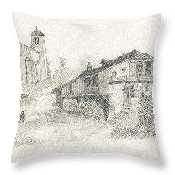 Sunday Service - No Borders Throw Pillow