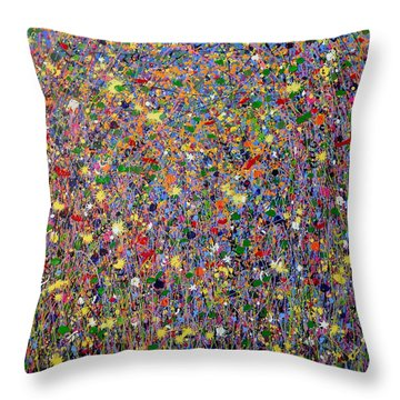 Sundazed Throw Pillow