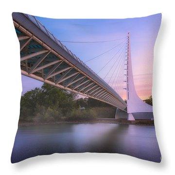 Sundial Bridge 6 Throw Pillow