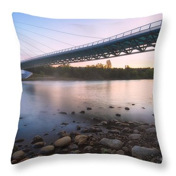 Sundial Bridge 7 Throw Pillow