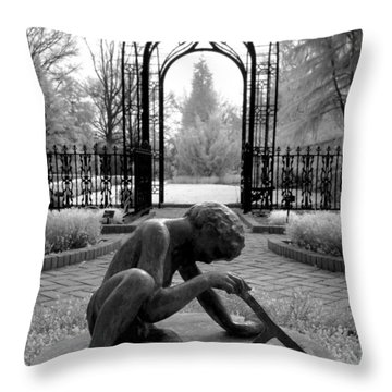 Sundial Throw Pillow by Jane Linders