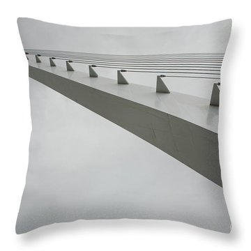 Sundial Perspective Throw Pillow by Carol Lynn Coronios