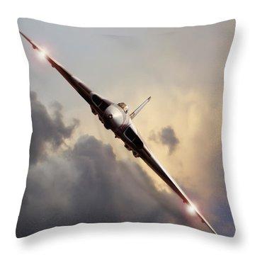 Sundown Approach Throw Pillow