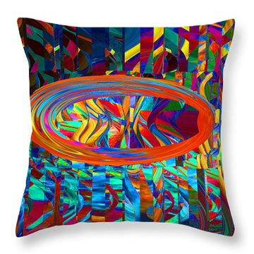 Sundrop Throw Pillow