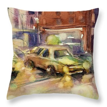 Sundrops Throw Pillow by Judith Levins