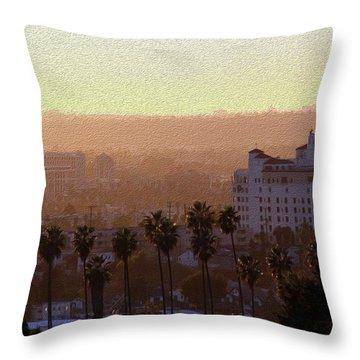 Sunet Colors Throw Pillow