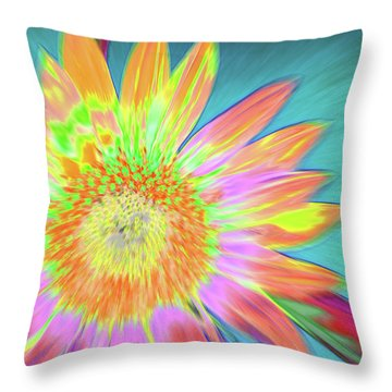 Sunfeathered Throw Pillow