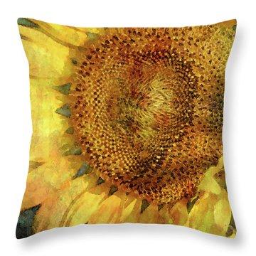 Sunflower 2254 Idp_2 Throw Pillow