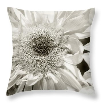 Sunflower 4 Throw Pillow