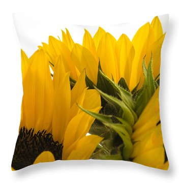 Sunflower Bright Throw Pillow