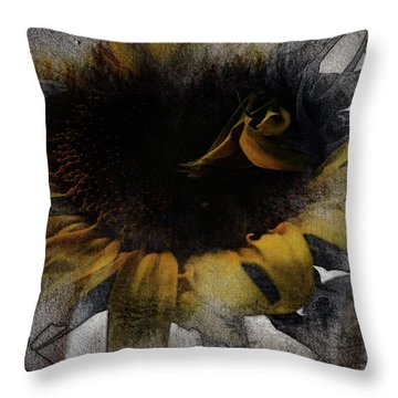 Sunflower Canvas Throw Pillow