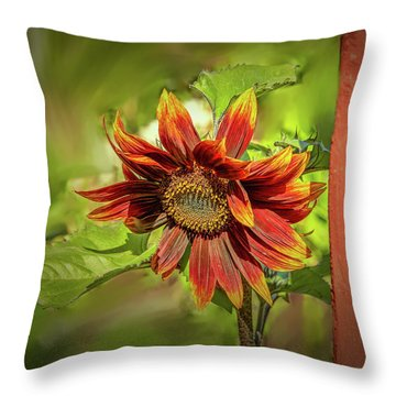Sunflower #g5 Throw Pillow