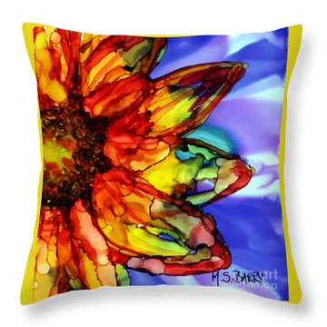 Sunflower Throw Pillow