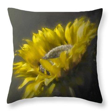 Sunflower Slumber Throw Pillow
