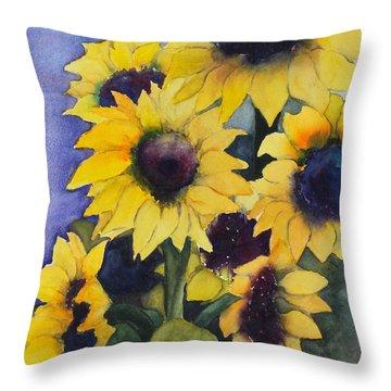 Sunflowers 17 Throw Pillow