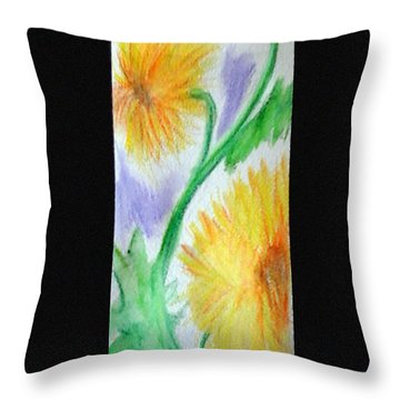 Sunflowers 27 Throw Pillow
