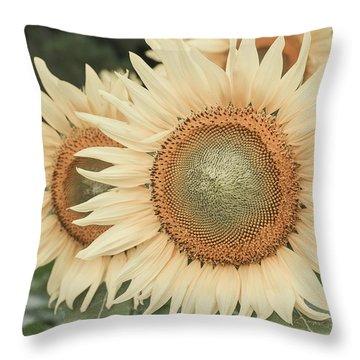 Sunflowers Detail Throw Pillow